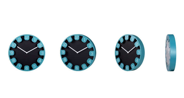 modern wall clocks for living room
