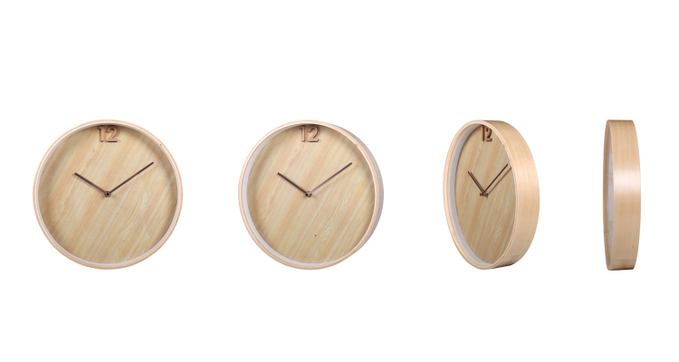 Simple Wooden Clock