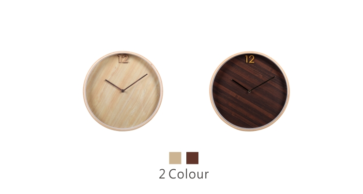 Wall Clock of Wooden Plywood