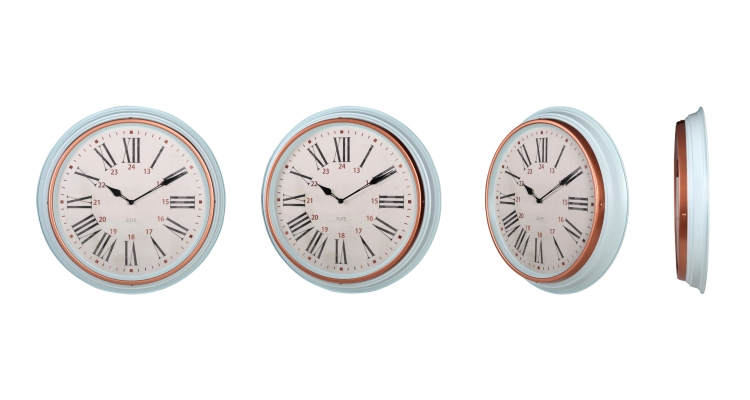 Wall Clock Metal Big Size