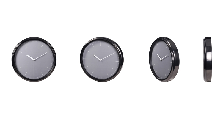 Stainless Steel Kitchen Wall Clocks