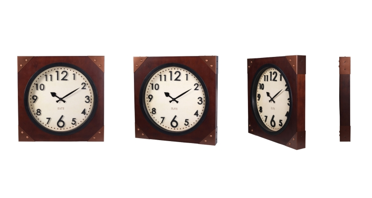 Customized Square Wall Clocks