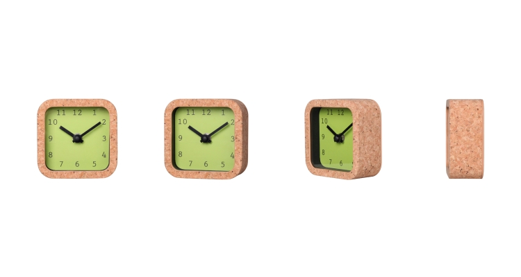 Small Wood Desk Clock