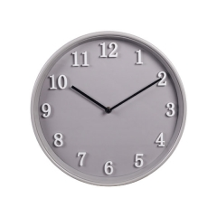 12 Inch Metal Wall Clock