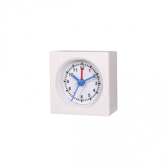 Black Analog Quartz Table Alarm Clock